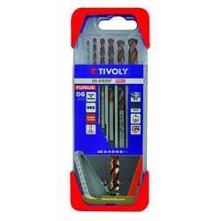 TIVOLY - Forets métaux HSS...