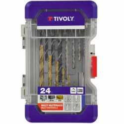 TIVOLY - Mallette 24 pièces...