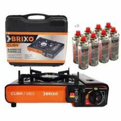 BRIXO Réchaud gaz portable...