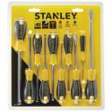 STANLEY - Jeu de 10 tournevis STHT0-60211 Essentiels Tous travaux